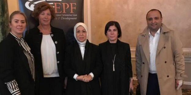 Çalık, Avrupa Parlamenterler Forumu Başkan Yardımcılığı'na seçildi