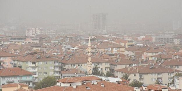 Malatya#039;da Toz Bulutu Etkili Oldu