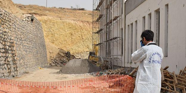Okul İnşaatında Duvar Çöktü, 1 İşçi Öldü