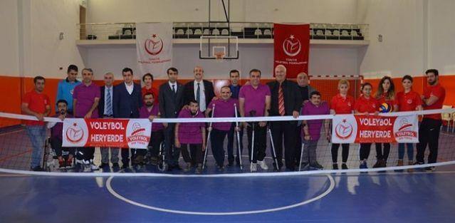 Dünya Engelliler Günü Voleybol Müsabakası Yapıldı