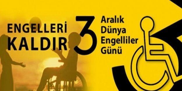'Engellilerin sorunlarına kalıcı çözümler üretmeliyiz'