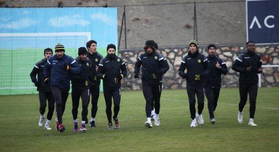 Evkur Yeni Malatyaspor'da kupa mesaisi başladı