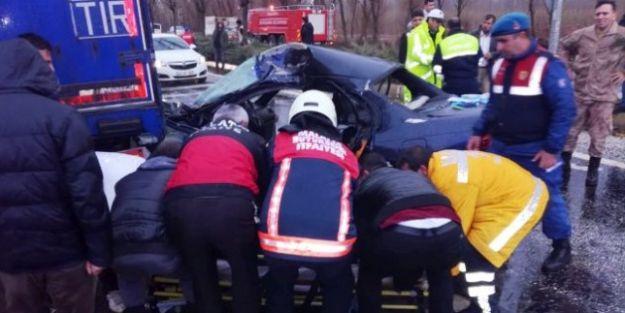 Karakol komutanı trafik kazasında öldü