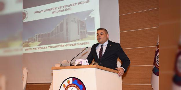 Sadıkoğlu: Malatya'nın 11 aydaki ihracatı 314 milyon Dolar