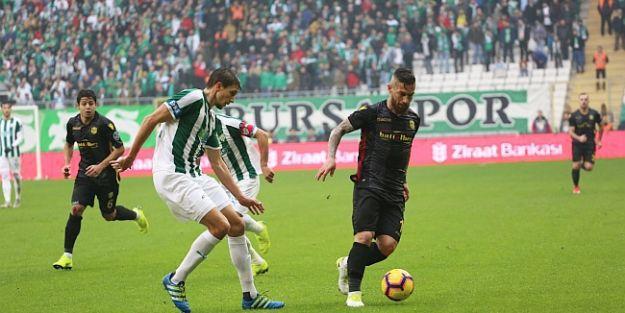 Yeni Malatyaspor Bursa'dan Çok Zor Çıktı:1-1