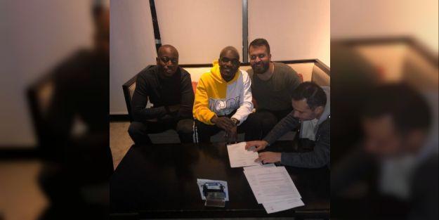 Bifouma ile 1,5 yıllık sözleşme imzalandı