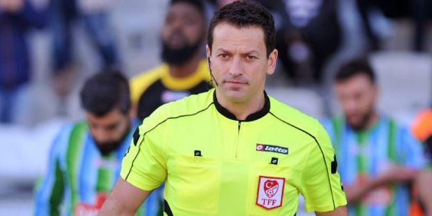EYMS-Bodrumspor maçını Bayarslan yönetecek