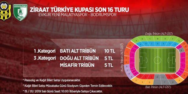 EYMS-Bodrumspor maçının biletleri satışa sunuldu