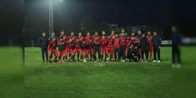 EYMS U17, hazırlık maçında galip
