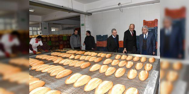 MEGSAŞ günde 65 bin ekmek üretiyor
