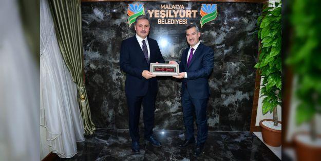 Milletvekili Çakır'dan Yeşilyurt Belediyesi'ne ziyaret