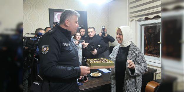 Milletvekili Çalık, Beydağı Polis Merkezi Amirliği'ni ziyaret etti