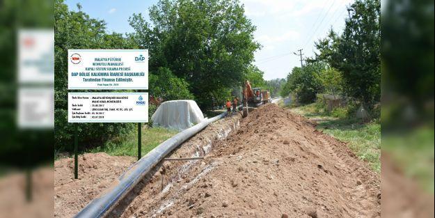 Tarımsal sulamaya 15 milyonluk yatırım