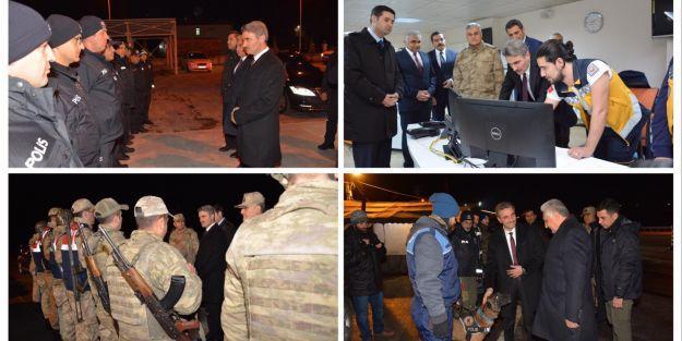 Vali Baruş'tan emniyet, jandarma ve 112 personeline ziyaret