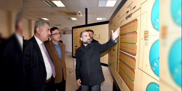 Başkan Polat arıtma tesisini inceledi