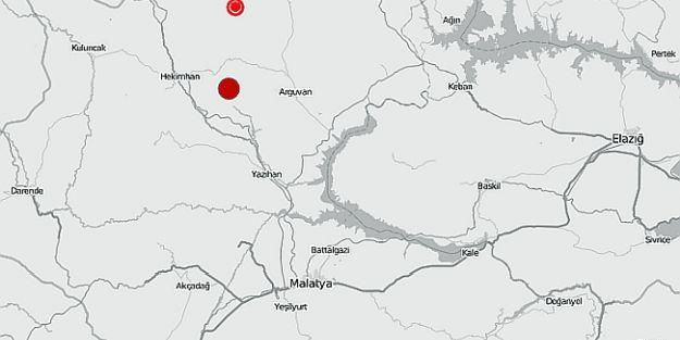 Hekimhan ve Çevresinde Korkutan Depremler
