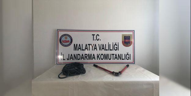 Kablo hırsızlığı yapan 3 kişi yakalandı