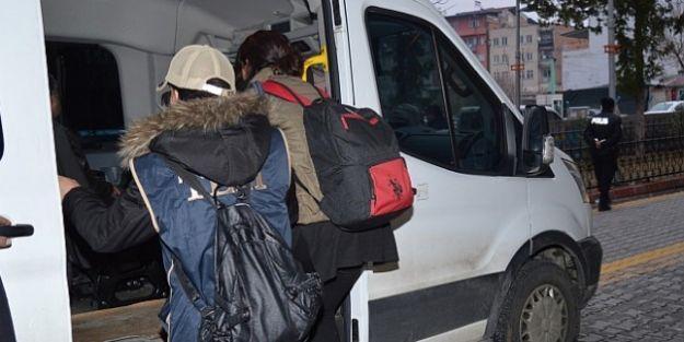Malatya'da terör örgütü PKK/KCK'ya operasyonU: 5şüpheli tutuklandı