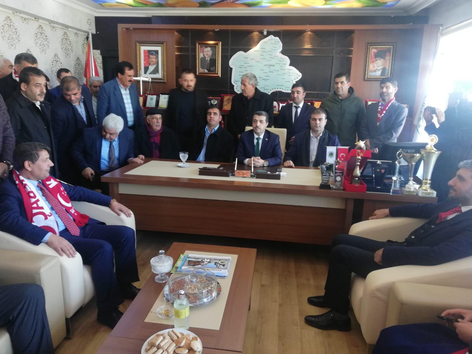 SP'den Pütürge Belediyesi'ne ziyaret