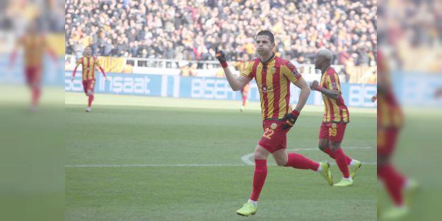 Takımın en golcüsü Aleksic