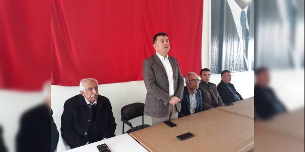 Ağbaba, Yazıhan'da seçim çalışmalarını sürdürdü
