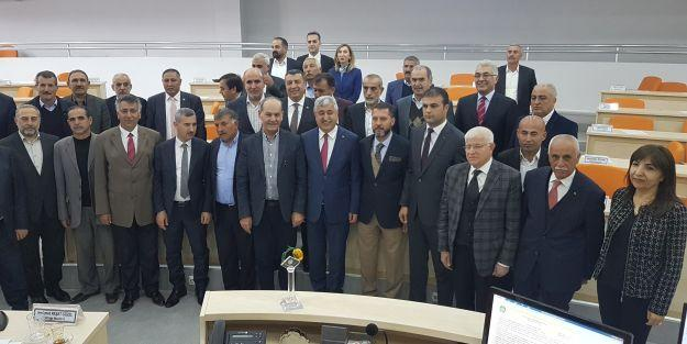 Başkan Polat ve meclis üyeleri vedalaştı