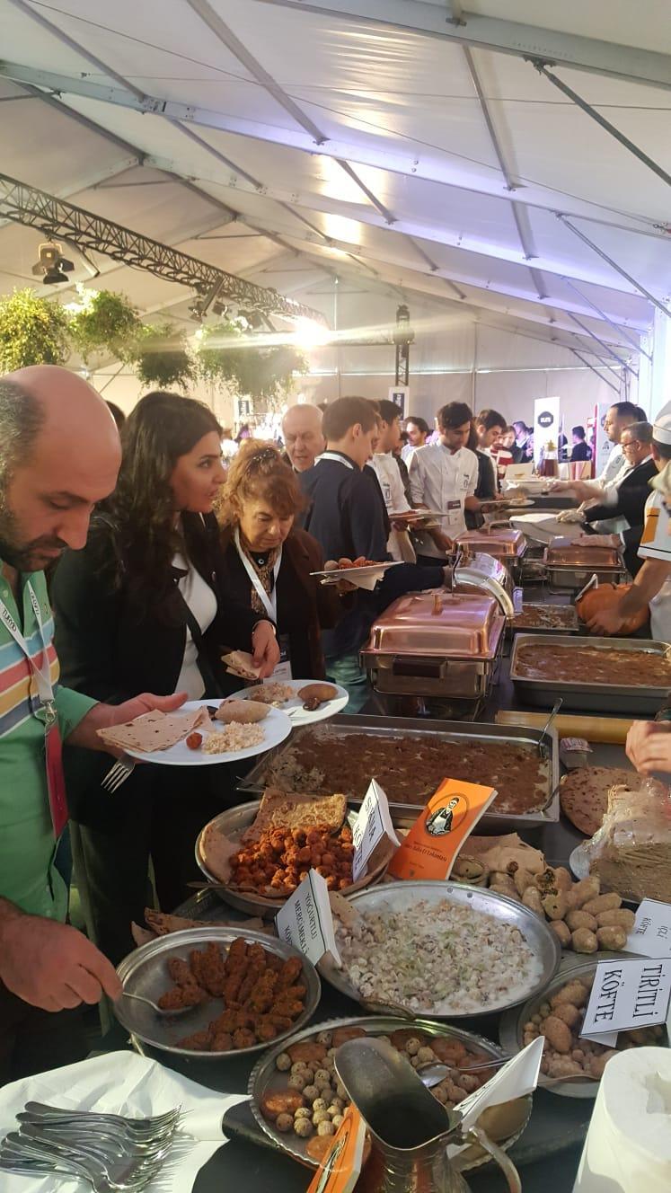 Gastronomi zirvesinde Malatya yemekleri tanıtıldı