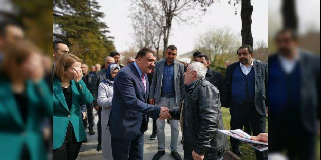 Gürkan, 'Malatya'mıza hizmet etmek bizim görevimiz'