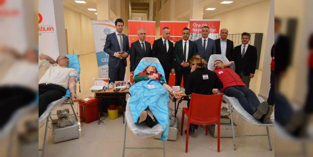 MTÜ'den kan bağışına destek