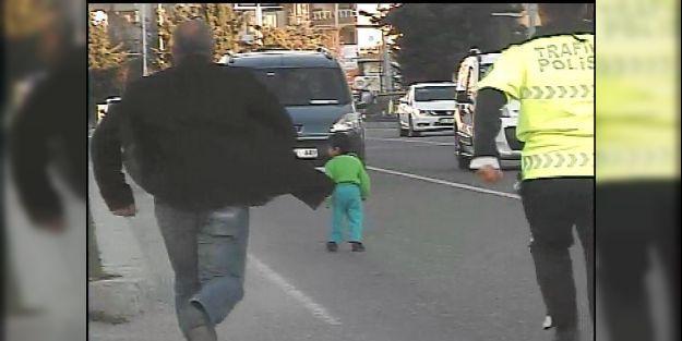 Radar bu kez çocuğu yakaladı!..