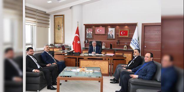 STK'lardan Başkan Polat'a ziyaret