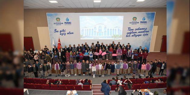 """Su ve Hayat"""" konulu yarışmanın ödül töreni yapıldı"""