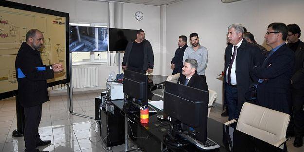 Vali Baruş, belediye hizmetlerini inceledi