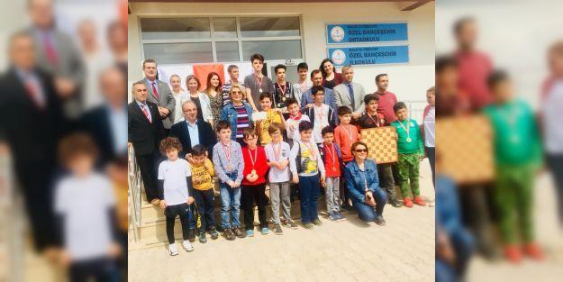Bahçeşehir Satranç Turnuvası'nın birincileri belli oldu