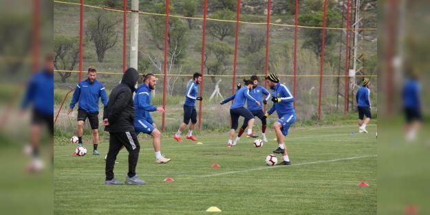 EYMS, Galatasaray maçının hazırlıklarını sürdürdü