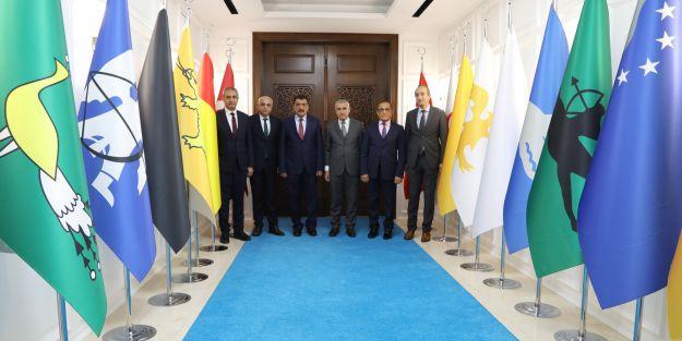Gürkan#039;dan Güder#039;e ziyaret