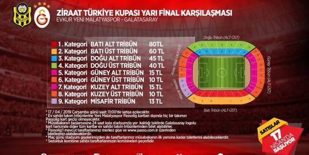 Kupa maçının biletleri satışa çıkıyor