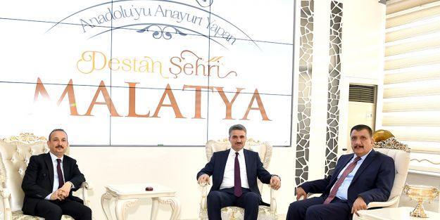 Vali ve HSYK Teftiş Kurulu Başkanından Gürkana ziyaret