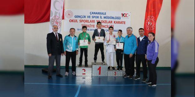 Han ve Torun Türkiye üçüncüsü oldu