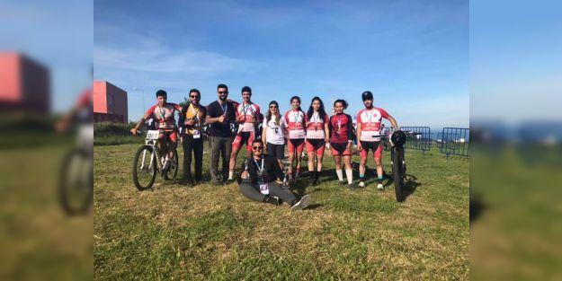 İÜBİS, dağ bisikleti yarışmasından derecelerle döndü