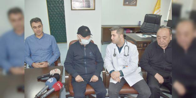 Özbek hastaya Malatya'da ilik nakli yapıldı