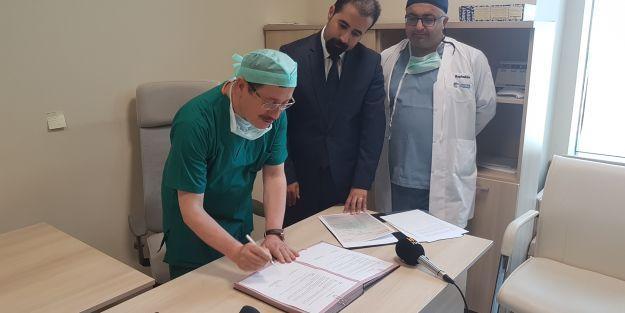 Ankara'daki Malatyalılardan karaciğer nakilleri için 35 bin TL bağış