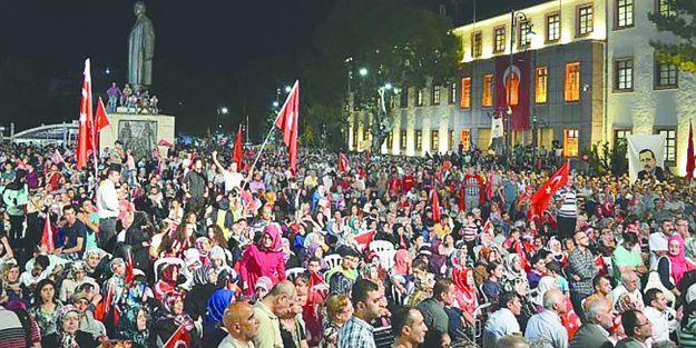 15 Temmuz Demokrasi ve Milli Birlik Günü Anma Programı