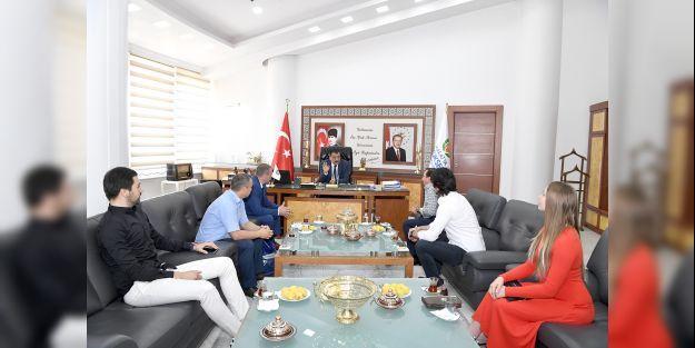 Belerus heyetinden Gürkan#039;a ziyaret