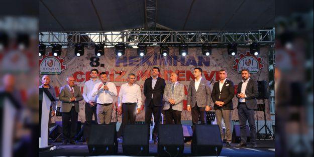 Ceviz, Maden ve Kültür Festivali sona erdi