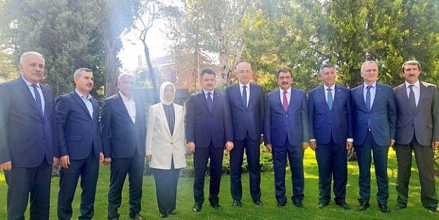 Malatya Heyeti'nden Ankara'da Ziyaretler
