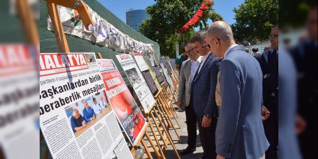 MTÜ'den 15 Temmuz Fotoğraf Sergisi açıldı