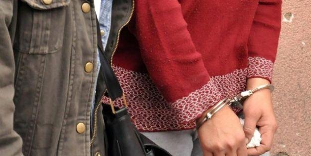 Terör örgütünün propagandasını yapan kadın tutuklandı