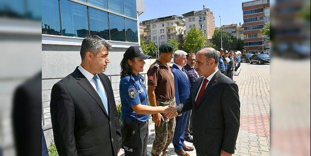 Emniyet Genel Müdürü  Aktaş'tan Malatya Emniyeti'ne ziyaret
