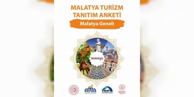 Malatya'ya turizm tanıtım anketi düzenleniyor